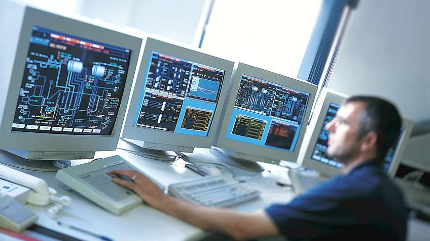 Controle de systeme distribue dcs