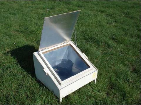 Cuiseur solaire boite