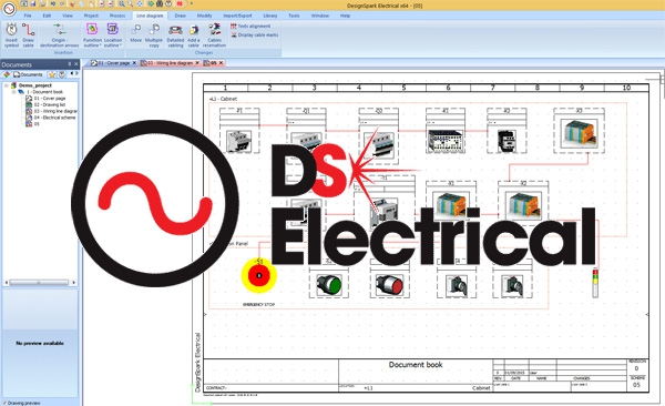 Designsparks electrical