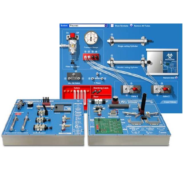 Apprendre l 39 automatisme industriel avec les maquettes for Porte logique pneumatique