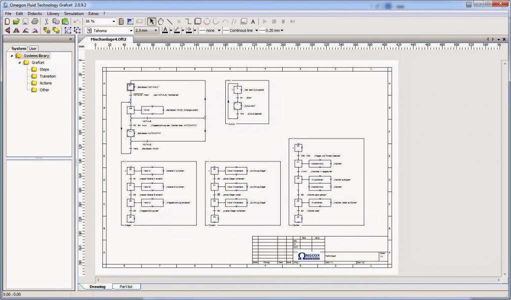 Oftgrafcet logiciel grafcet