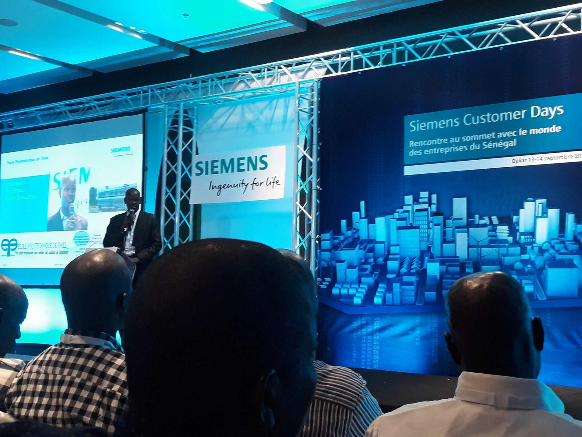Siemens customer day senegal