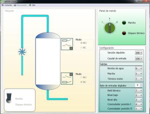 Simulateur partie operative automatisme
