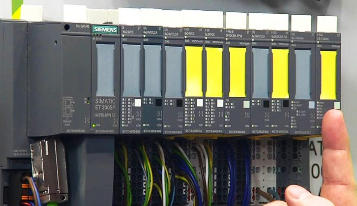 Cablage automate programmable siemens 1