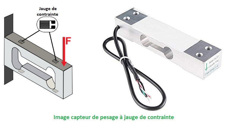 Capteurs de pesage
