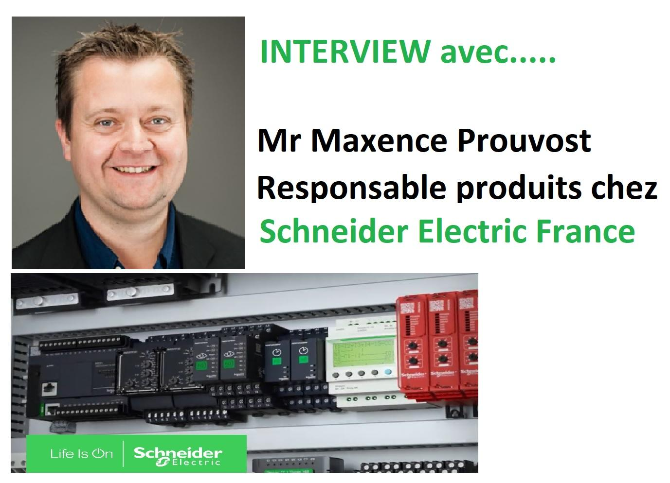 Maxence prouvost schneider electric