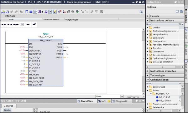 Modbus tcp client 1