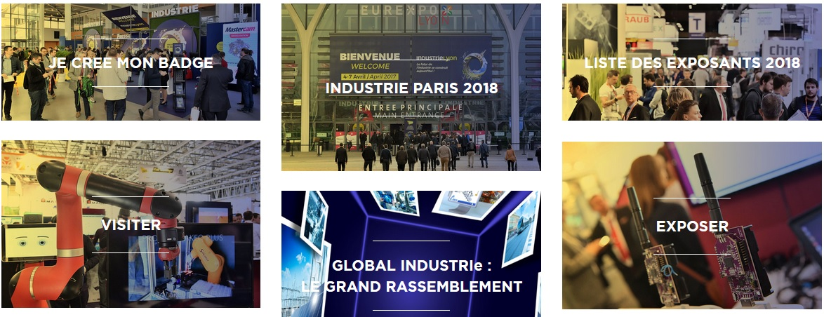 Salon industrie 2018